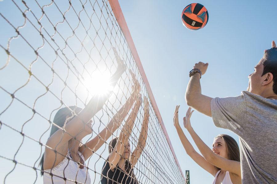 Lo sport in spiaggia